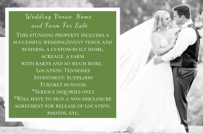 Tennessee Wedding/Event Venue, Home and Farm